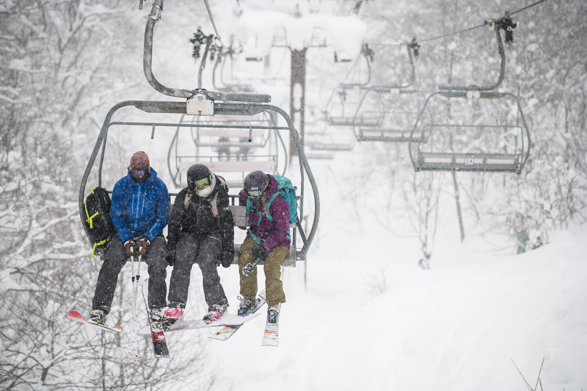 lifts with friends