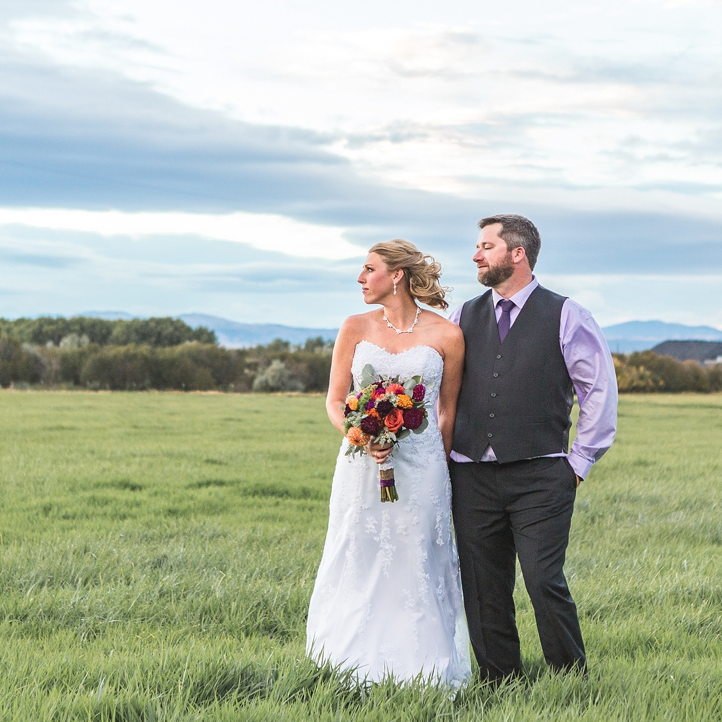Ashley + Nick, helena, mt - Jason and Jadean, are AMAZING! These two were with us from start to finish the day of our wedding. Jason came to the salon that I was getting my hair done at to start shooting the