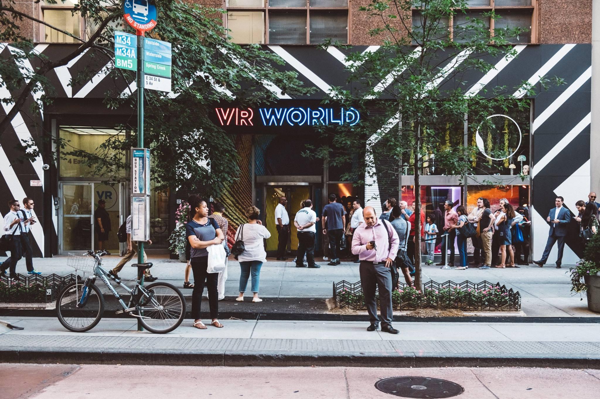 VR World in Manhattan on their launch day June 21st, 2017.