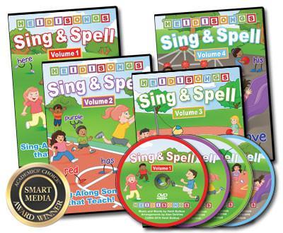 Sing & Spell, Vols. 1-6