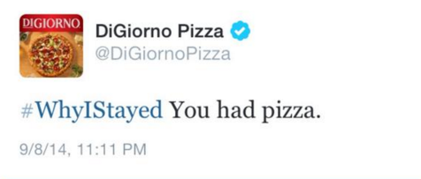 DiGiorno jumped on the wrong bandwagon about domestic violence.