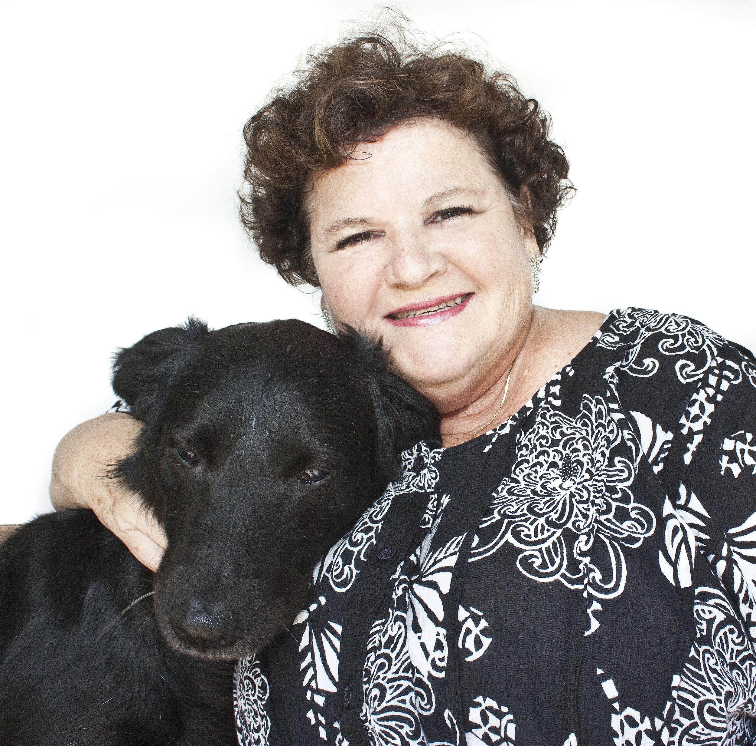 Deborah Sharp and Roxie.jpg