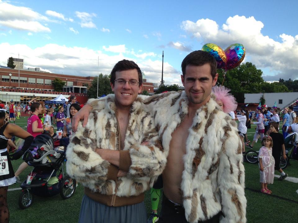 Poppin' Tags – Nick & Chris @ Potland's Starlight5k Run,2013