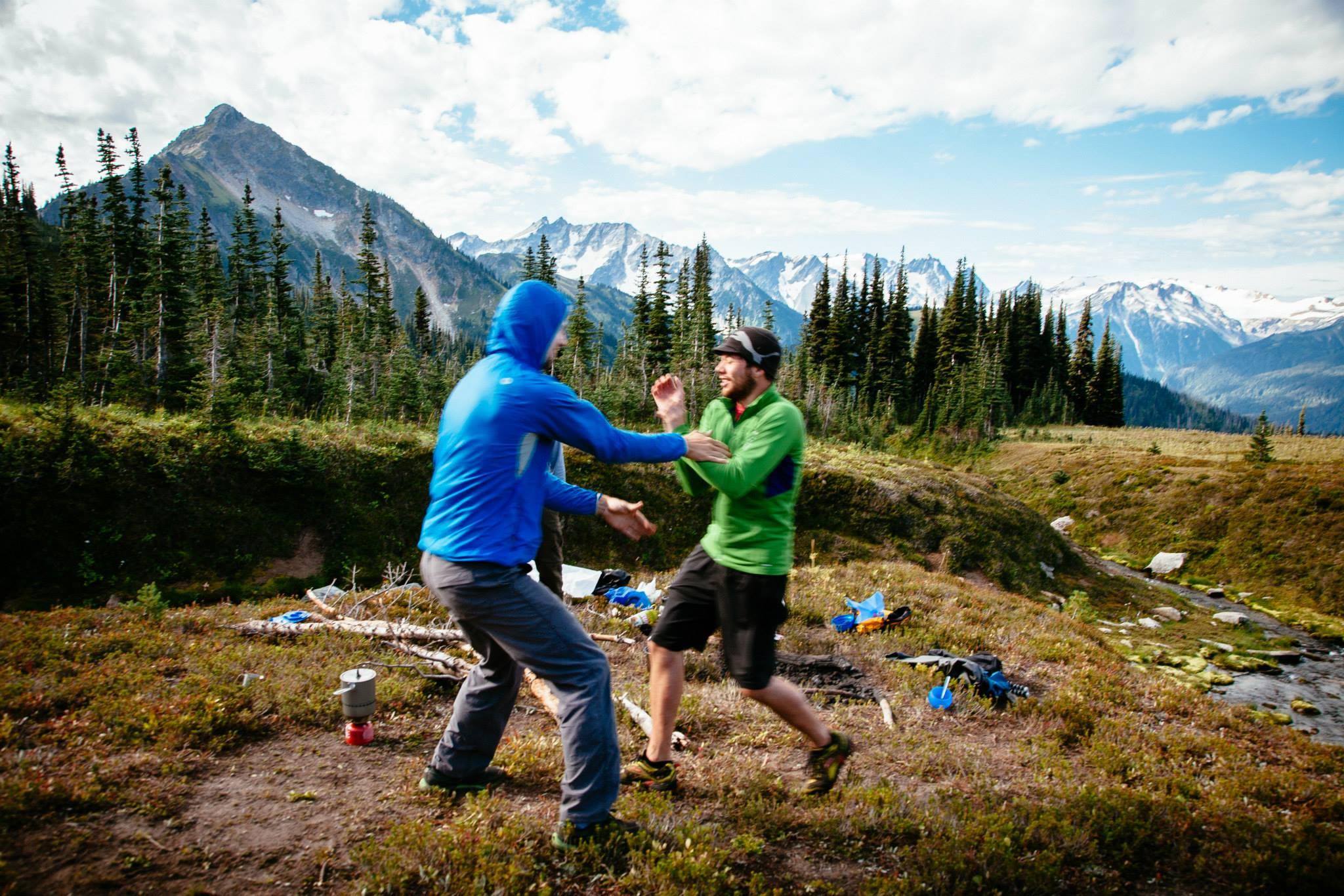 You Ate My Snickers! – Chris & Ben @ Glacier Peak Wilderness,2013