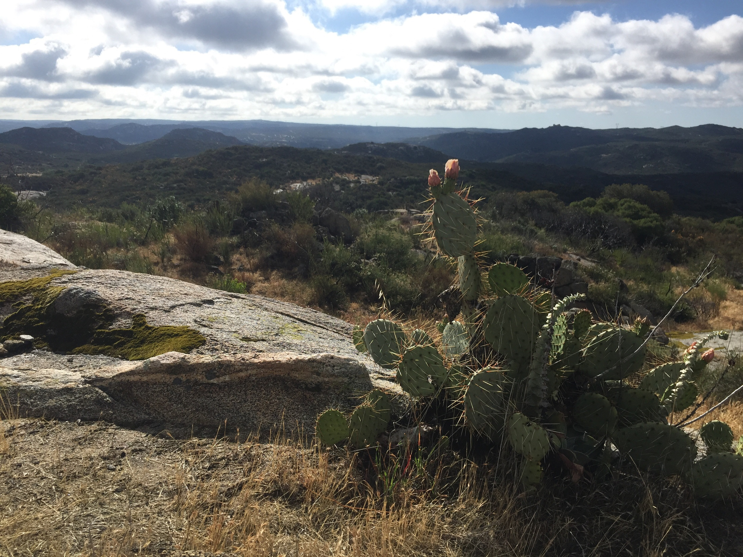 Hiking in a dry climate can be beautiful and difficult!