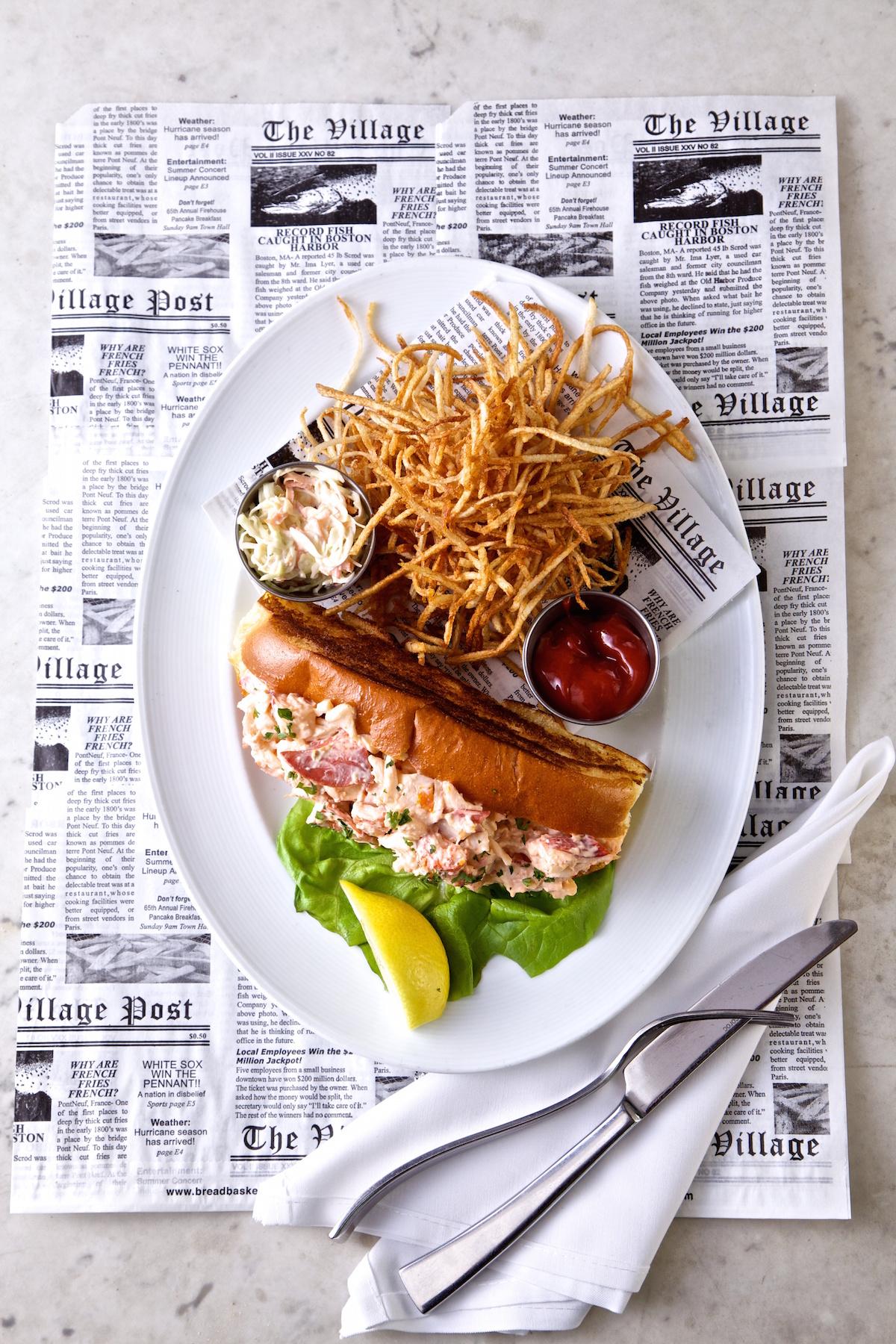 Morgans Fish House Rye New York Lobster Roll