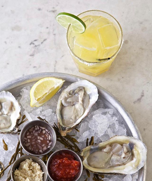 Let's keep the marg train moving!!! Join us for $1 oysters and 1/2 price margs ALL DAY!