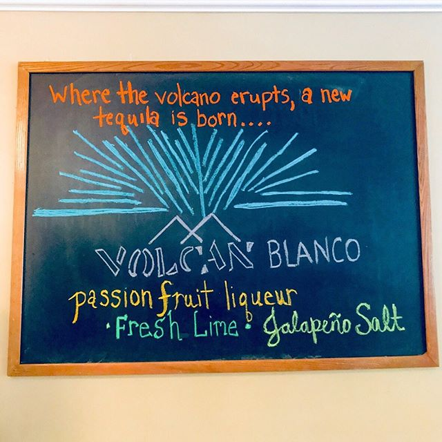 🚨 New Cocktail Alert 🚨 @volcantequila Blanco, Passion Fruit Liqueur, Fresh Lime & Jalapeño Salt! The PERFECT summer cocktail! Join us! 🍹🍈☀️
