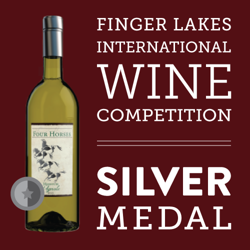 Finger Lakes International Wine Competition 2016   | Silver Medal