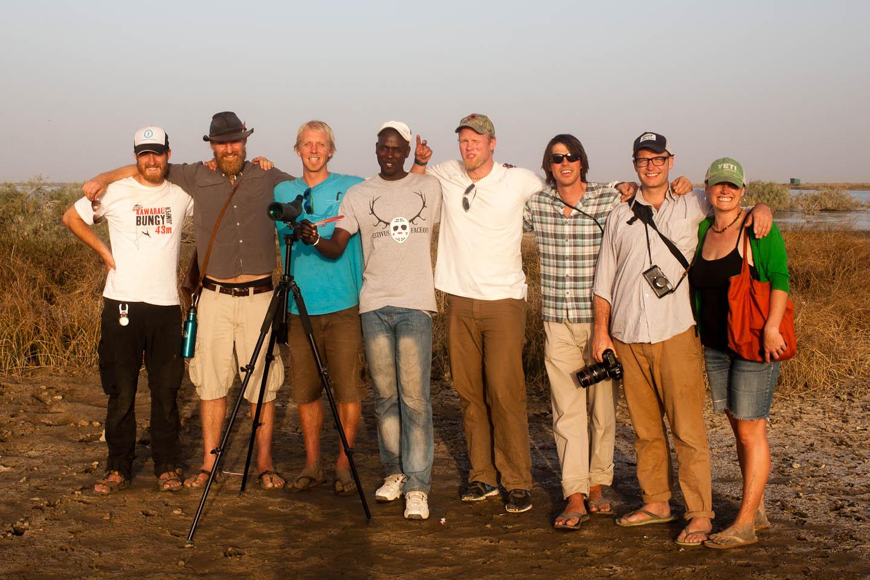 Doug, Jordan- Captain of OARNW, Markus, Ousmane, Adam, Patrick, Christopher, and Me!
