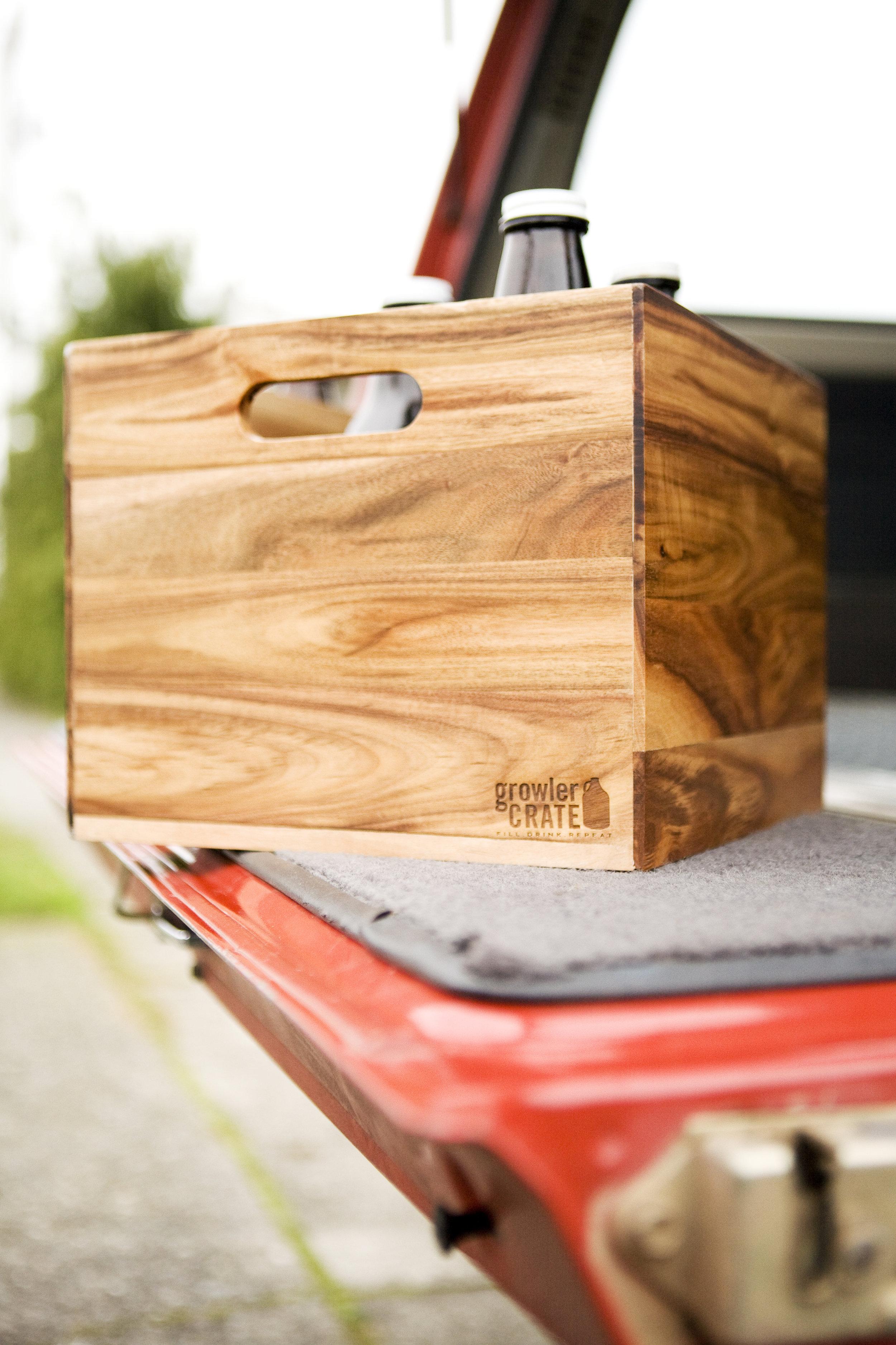 growler crate. seattle, wa