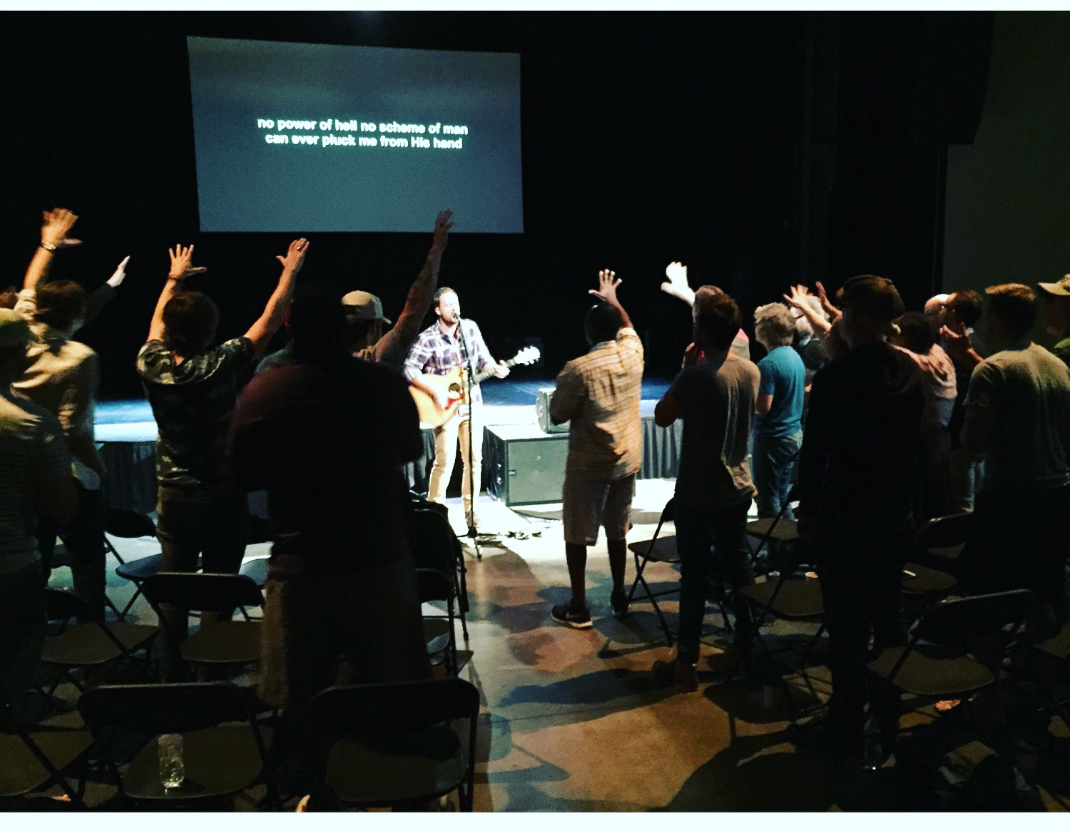 On September 16th I had the amazing privilege to lead in worship at our weekly Austin Stone Worship huddle.