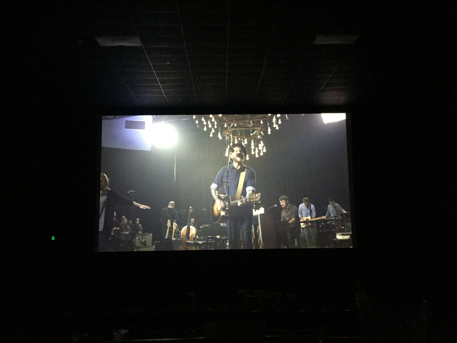 One of the music videos playing during the Alamo Drafthouse Album Release. Feel free to check out all of the live recording videos  here !