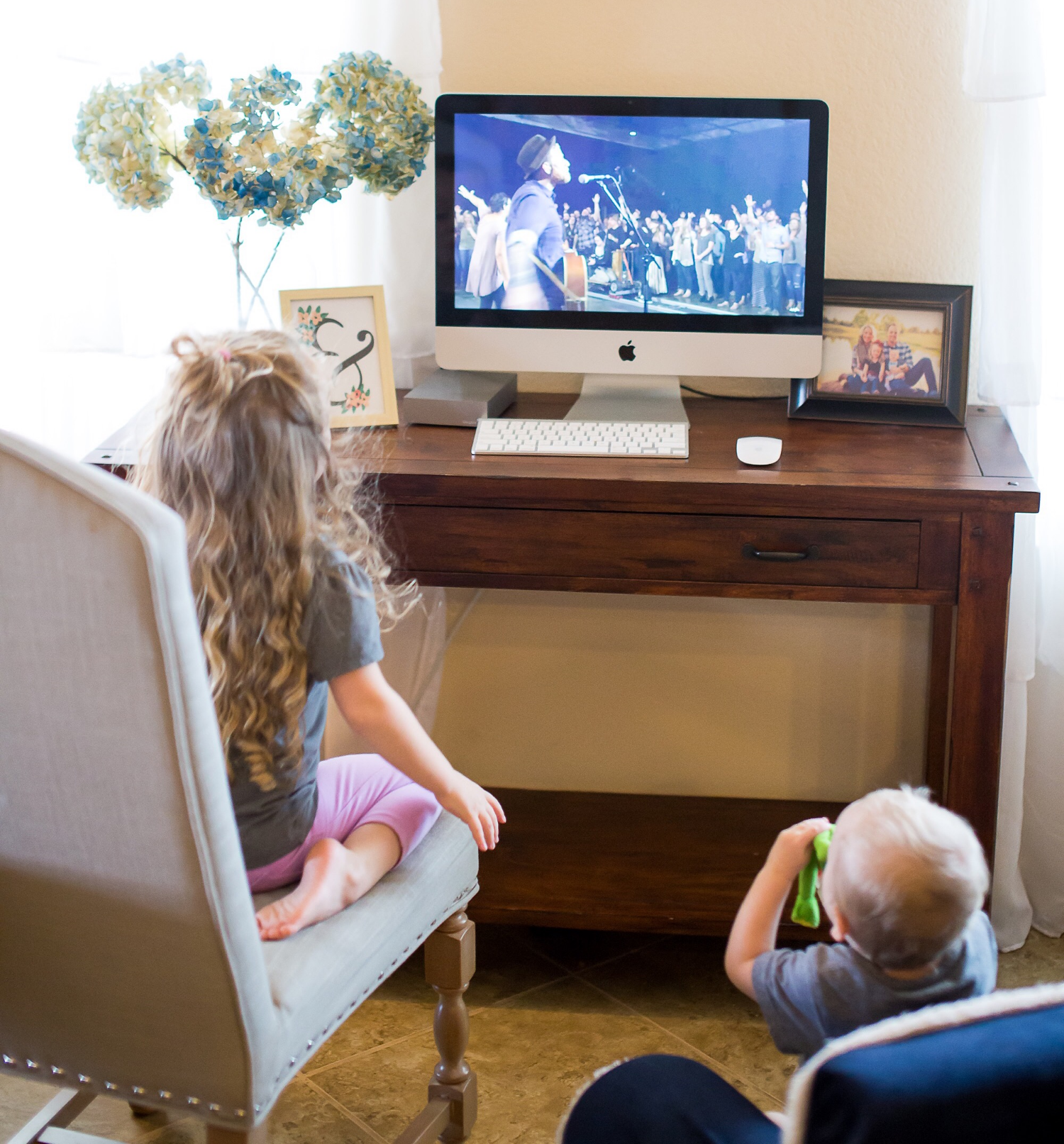 Ok, so both my kids love watching the music videos. Proud Daddy!