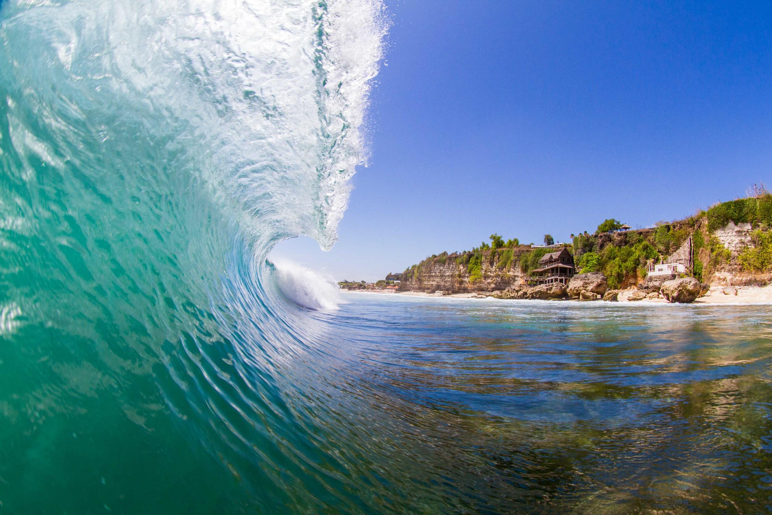 Waves at Bingin Beach