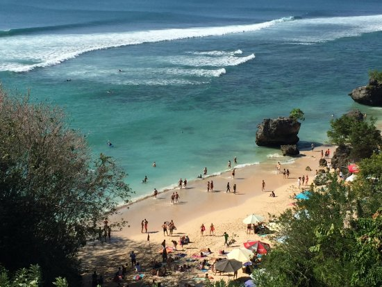 Padang Padang Beach. Photo by: unknown