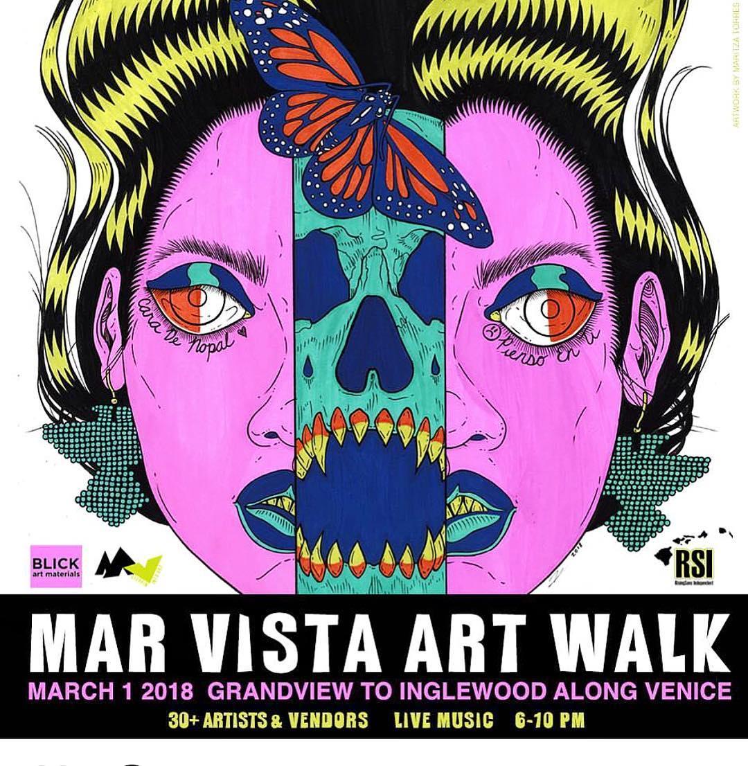 Mar Vista Art Walk featuring Surgeon Marta