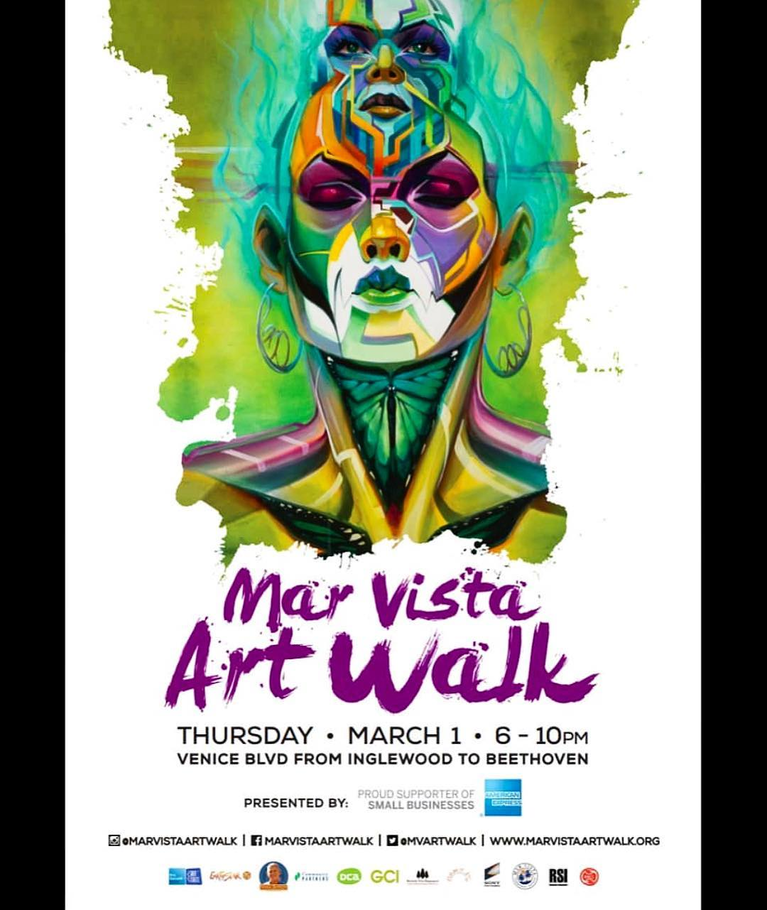Surgeon Marta at the Mar Vista Art Walk