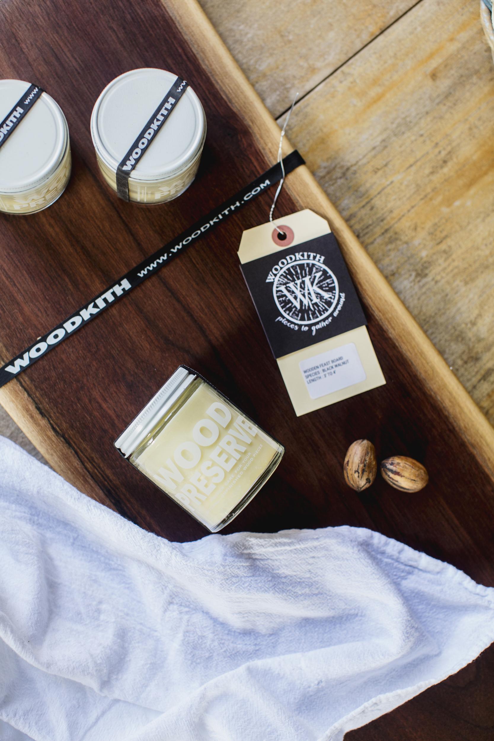 wooden feast board