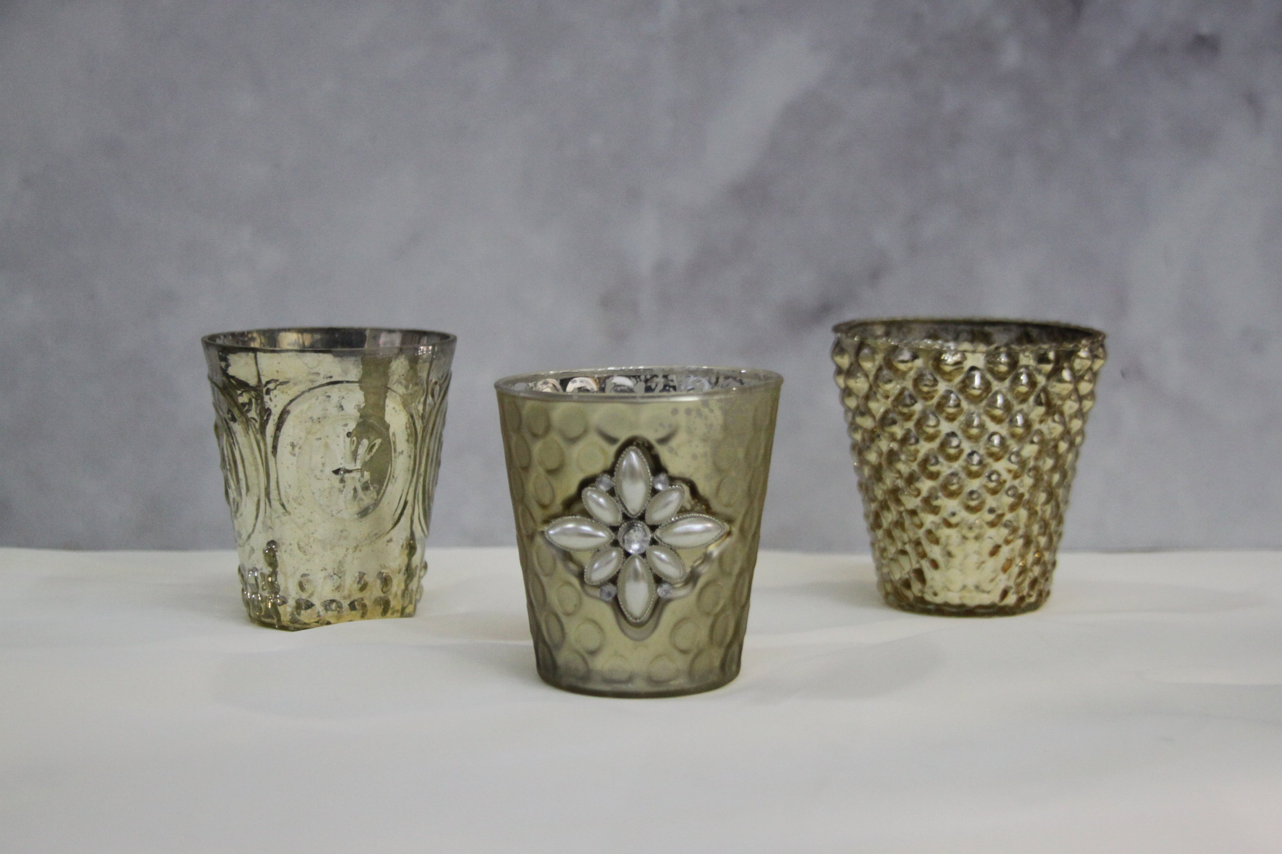 CA-7: Assorted Gold Votives