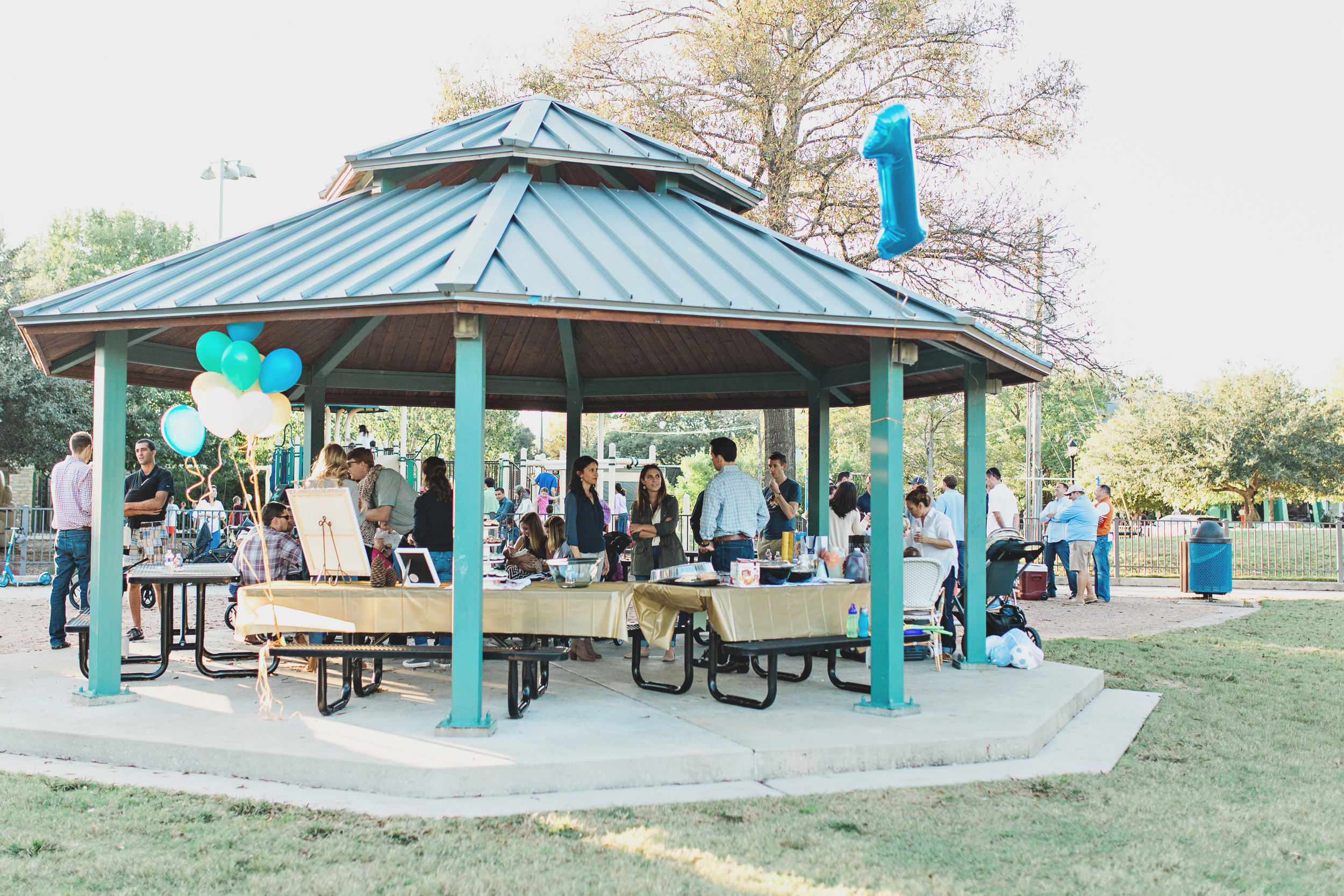 It was a perfect day for a party at Colonial Park. Photo by   R&J Studios  .