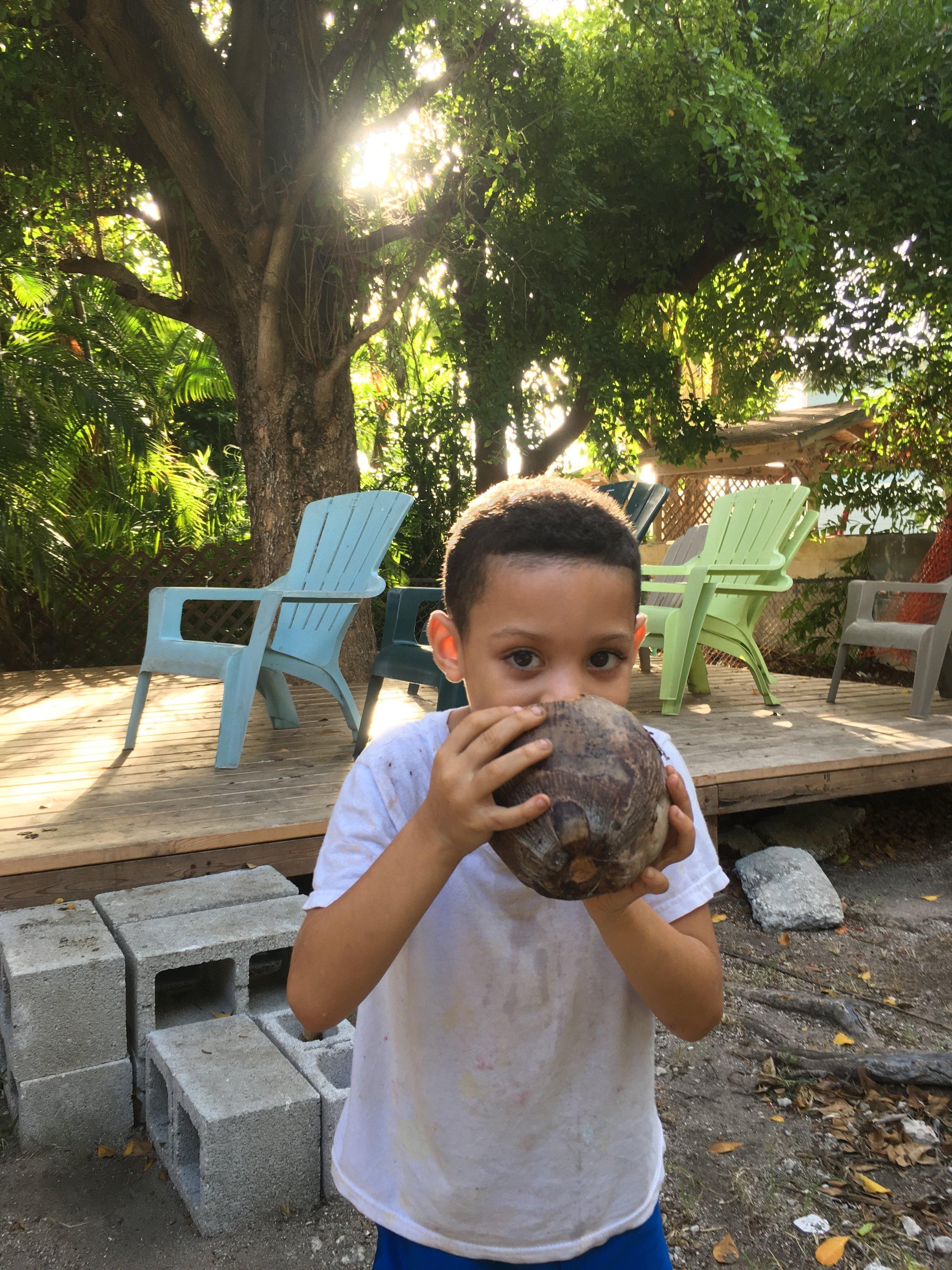 My buddy Ralphael aka Coconut