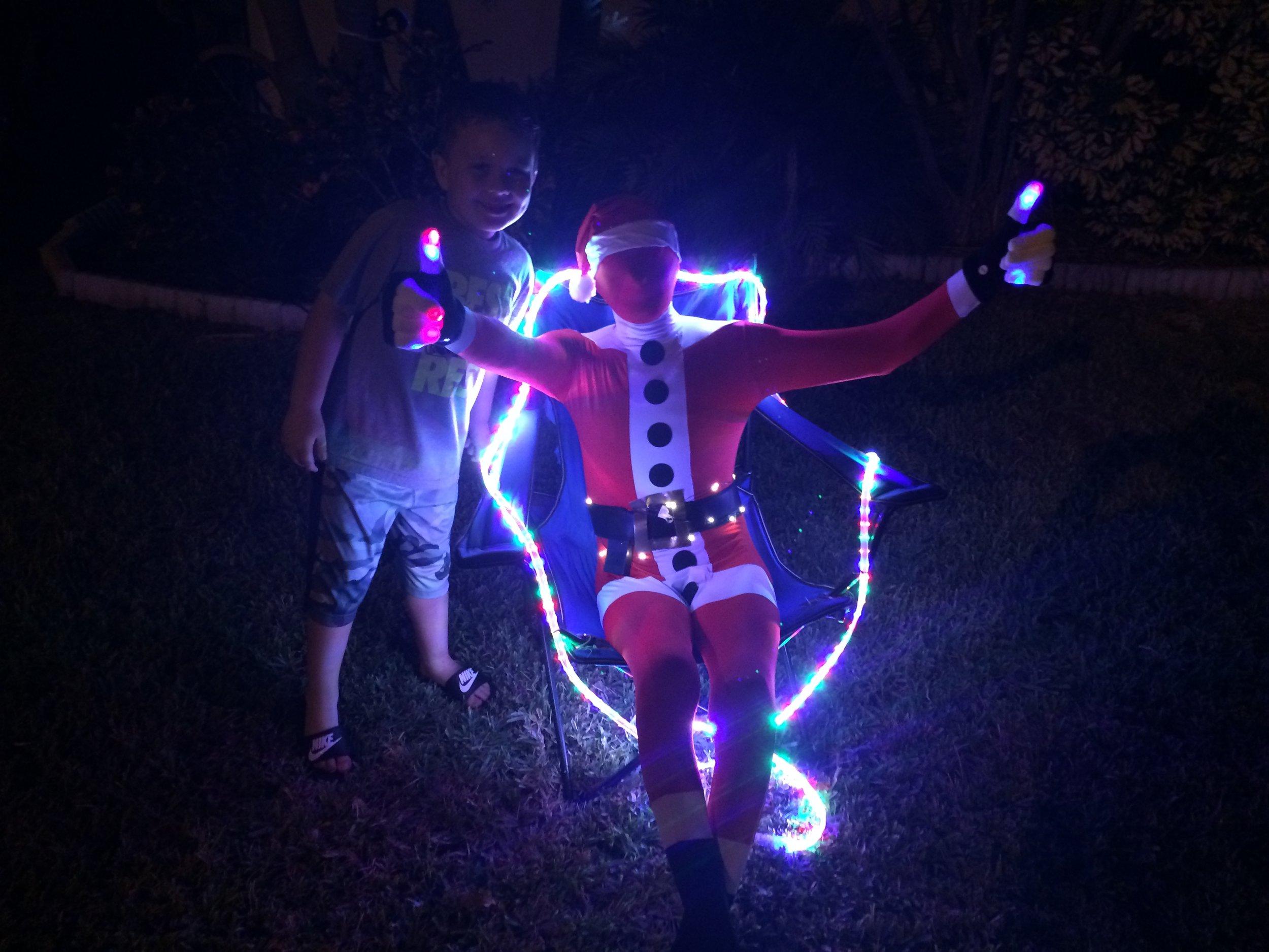 Matthew Hetu & Santa's Electric Helper