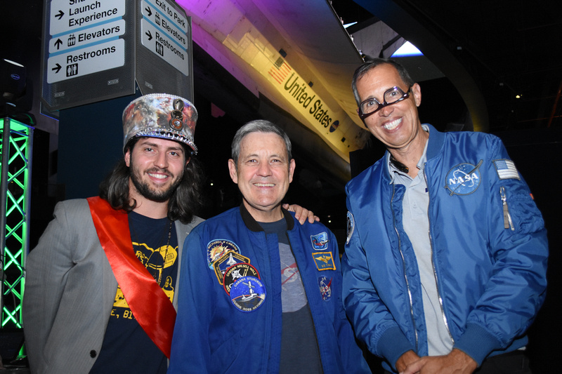 SpaceX's  Kiko Dontchev , Kennedy Space Center director  Bob Cabana ,… AND ME.