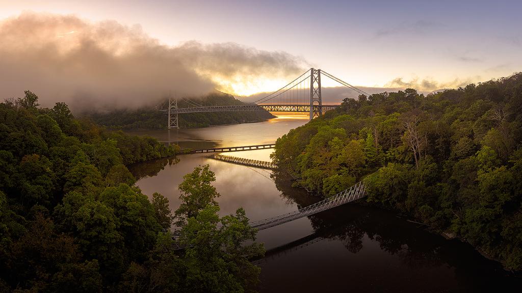 Bridges at Dawn