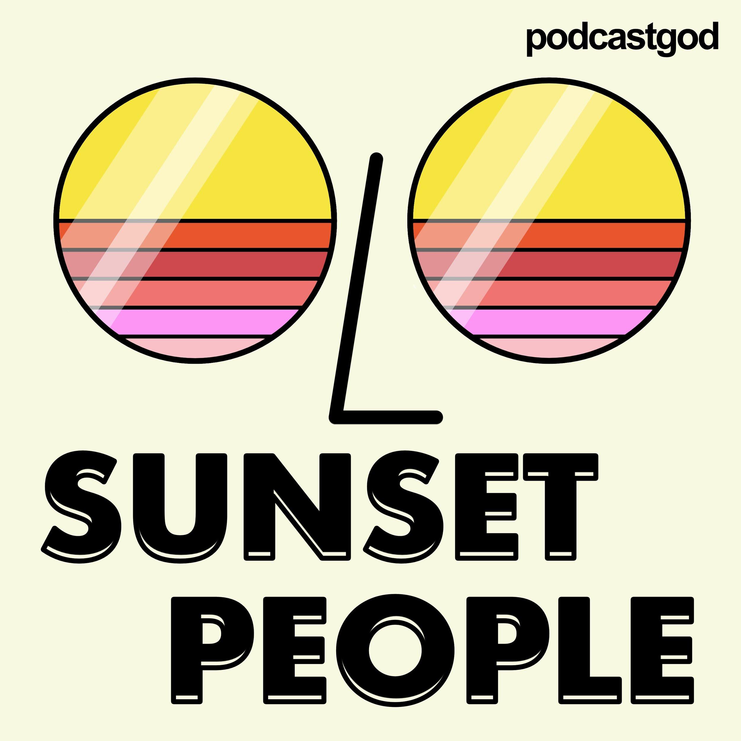Sunset People Art
