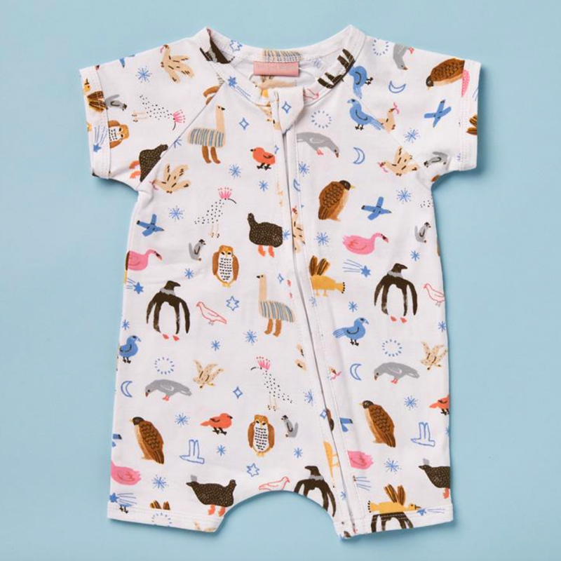 HIGH FLYIN' BIRDS SUMMER SLEEP SUIT