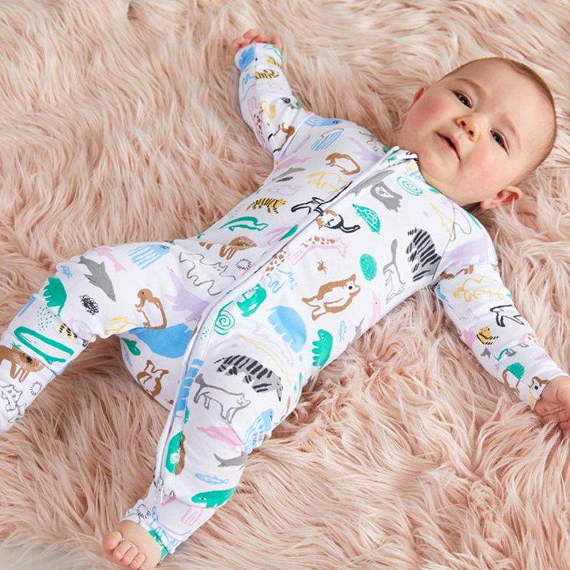HANGIN' WITH FRIENDS LONG SLEEVE SLEEP SUIT