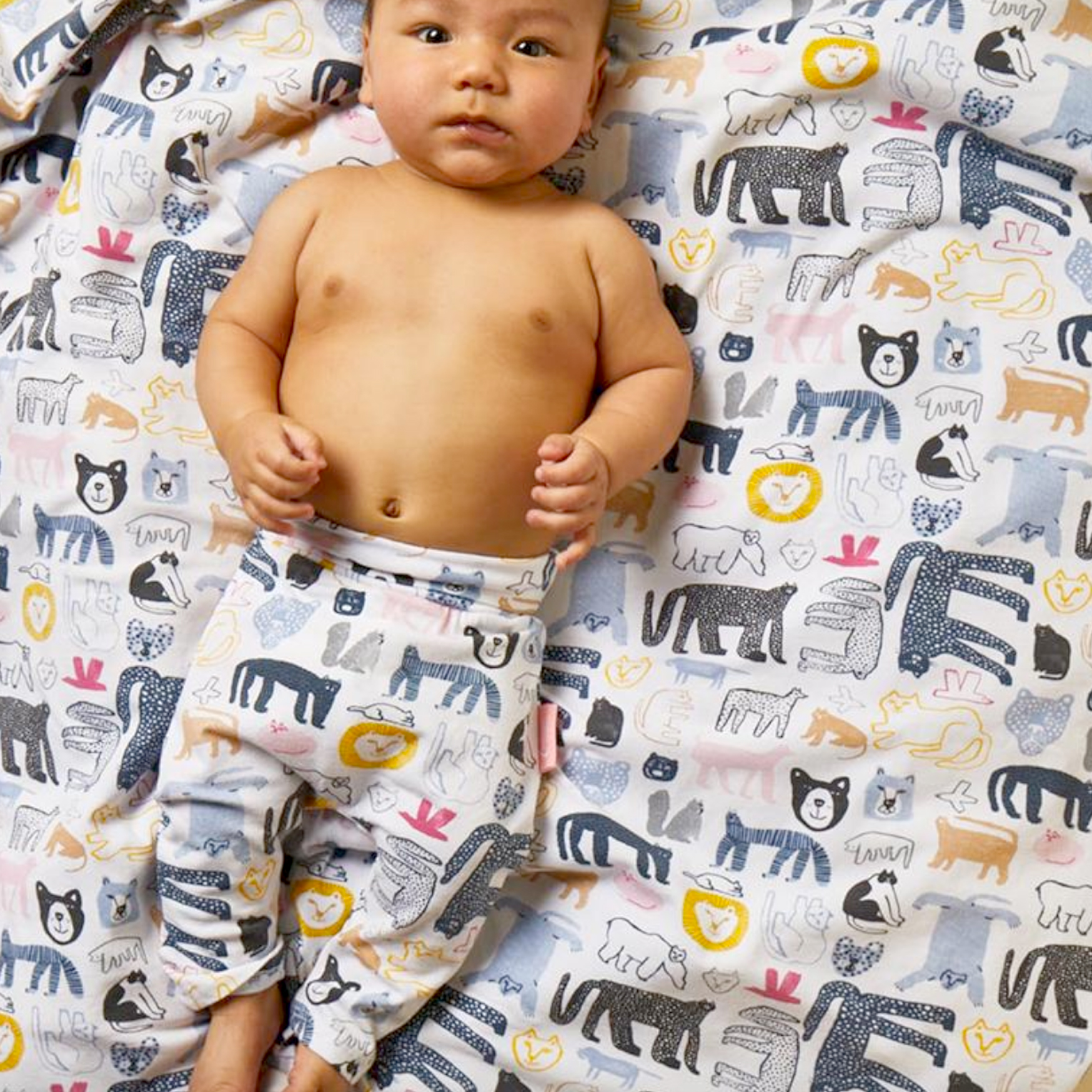 TASHIROJIMA LEGGINGS AND BABY WRAP