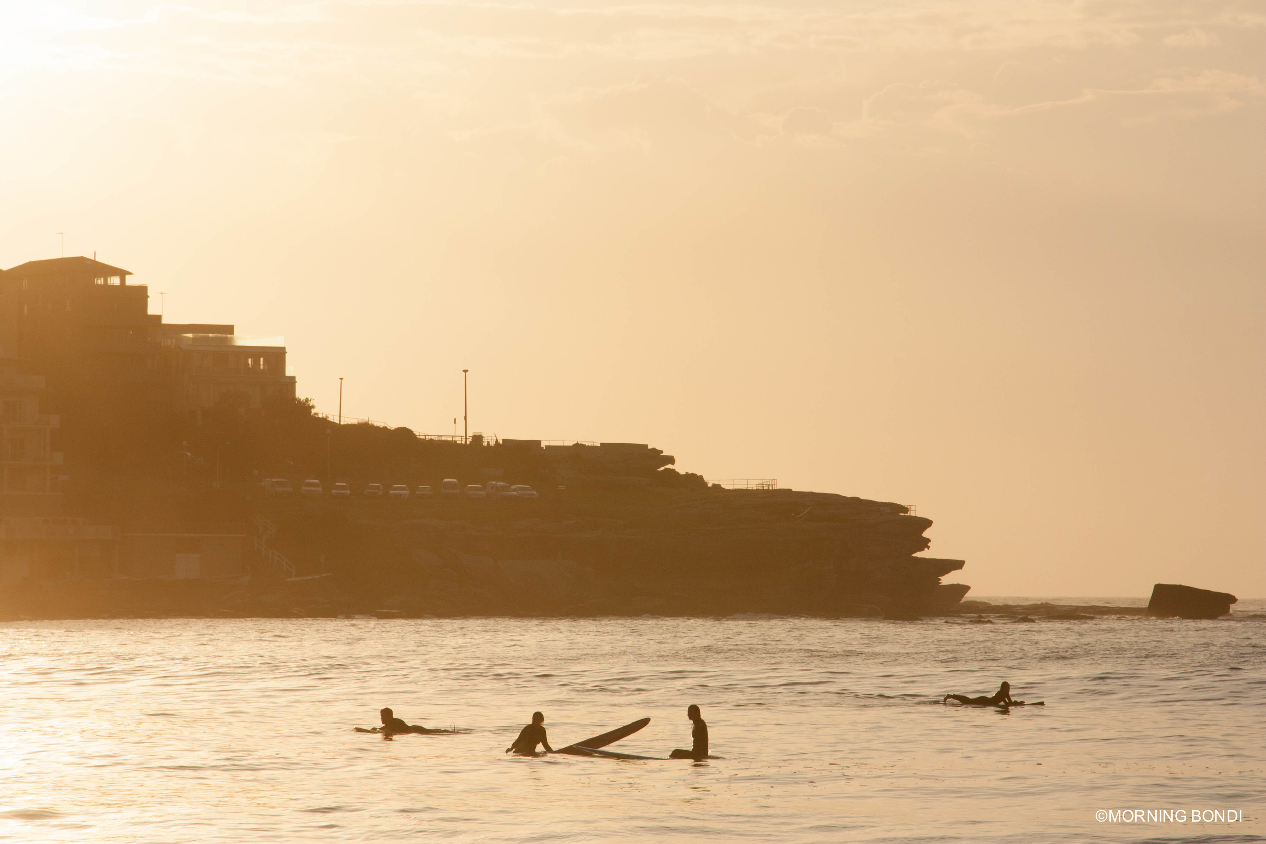 Sunrise surf sesh