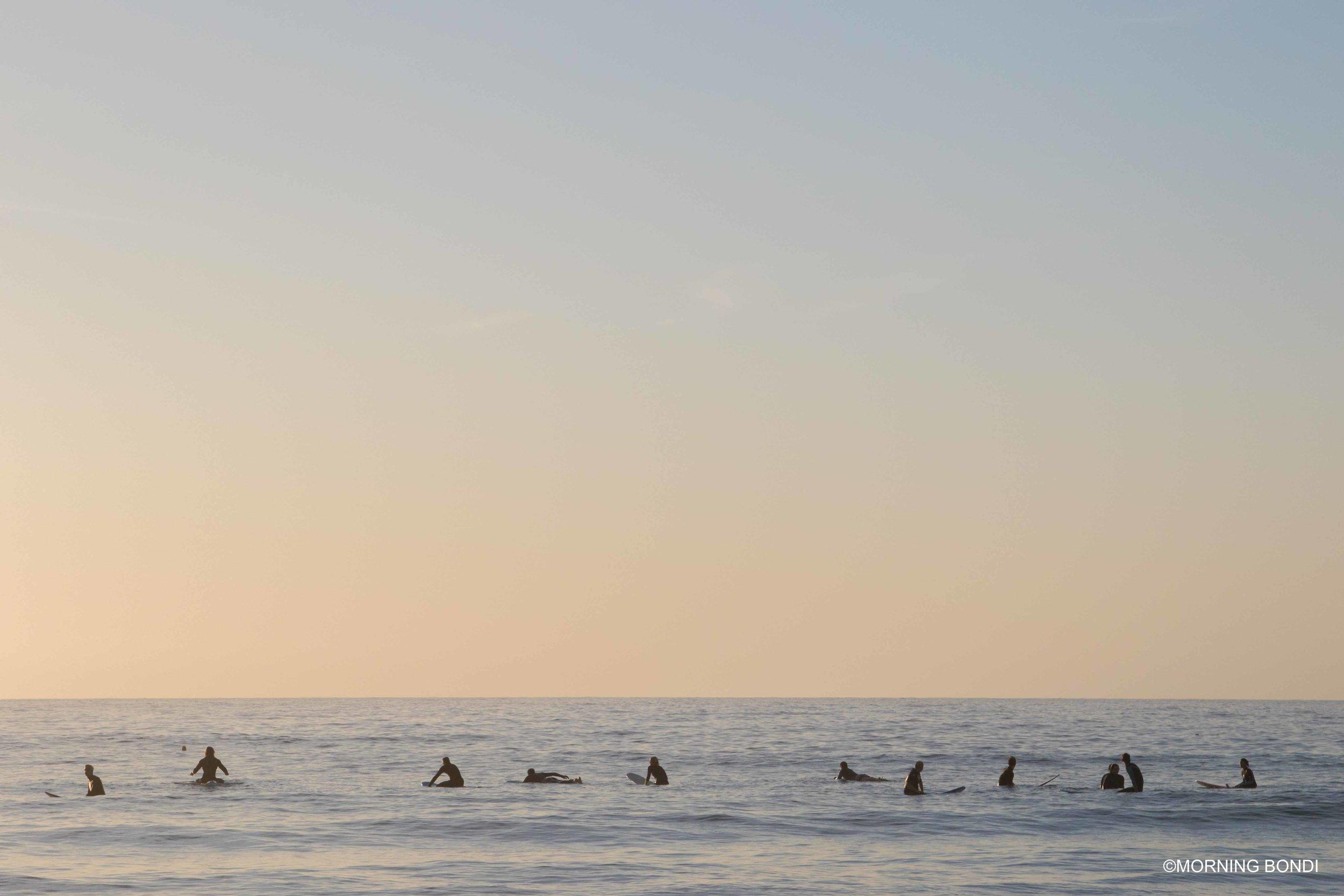 Sunrise surf at its best