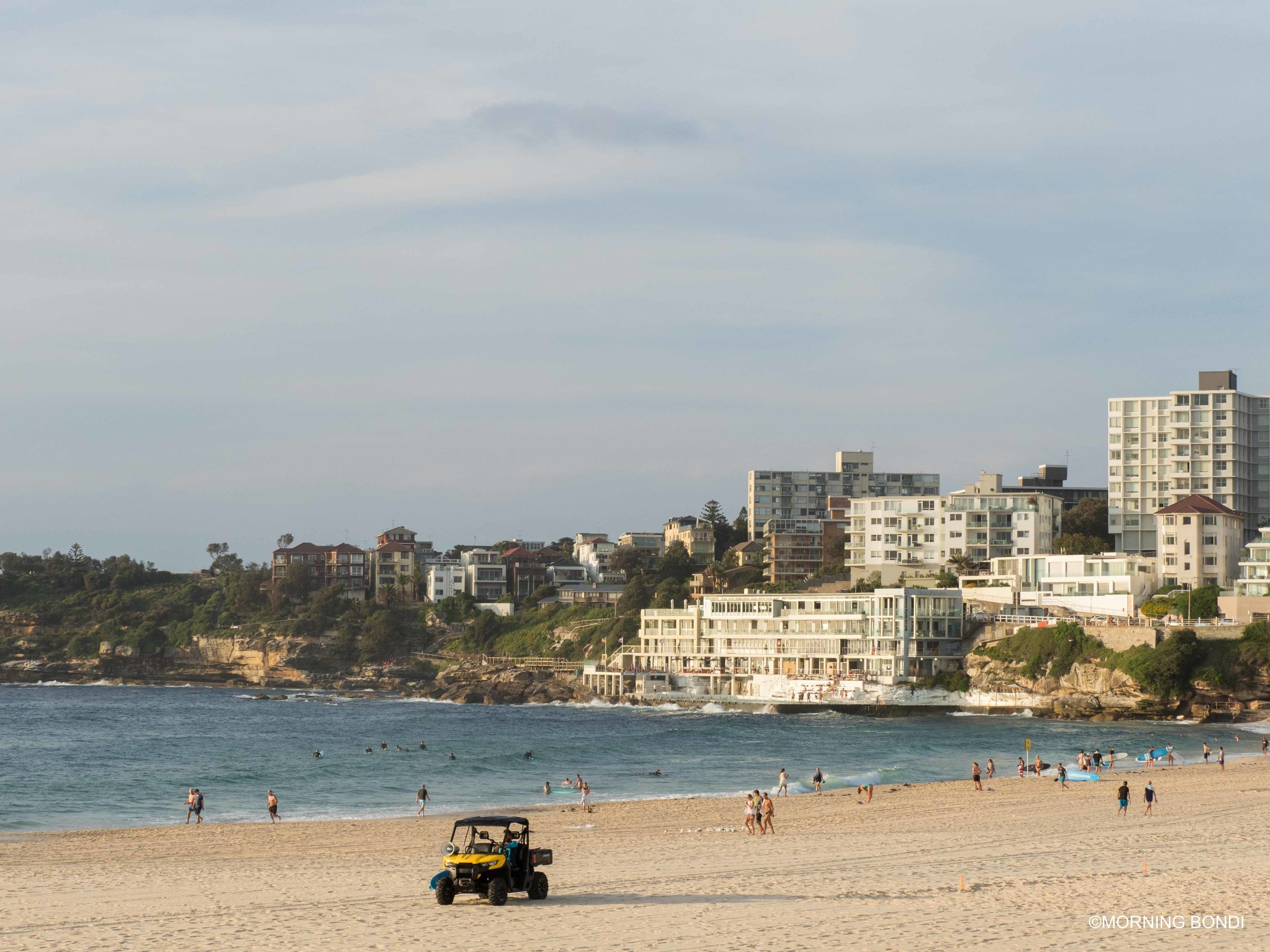 Postcard from Bondi Beach