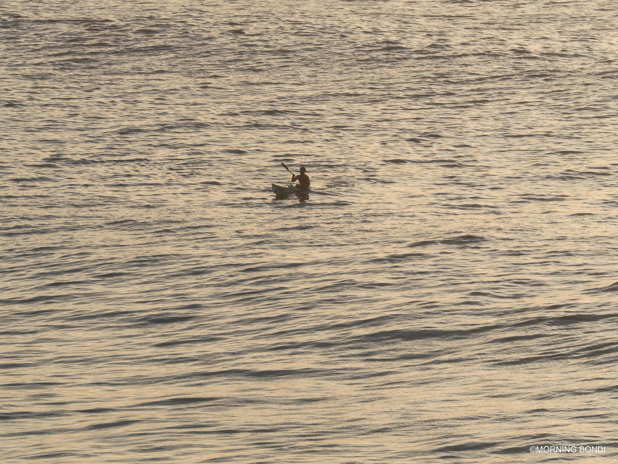 Sunrise paddle at its best