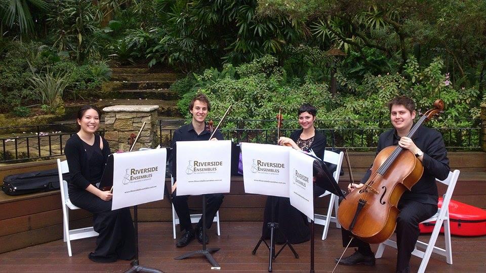Hire String Quartet Perth www.RiversideEnsembles.com.au Wedding