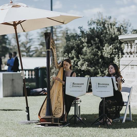 perth-function-string-music-hire-wedding-riverside-violin-harp-duo
