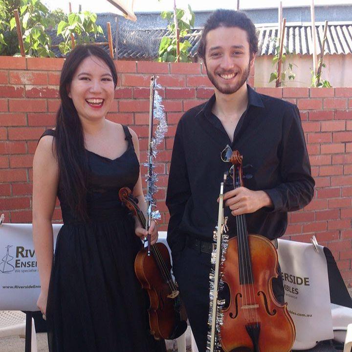 perth-function-music-hire-wedding-riverside-christmas-string-duo-violin-viola