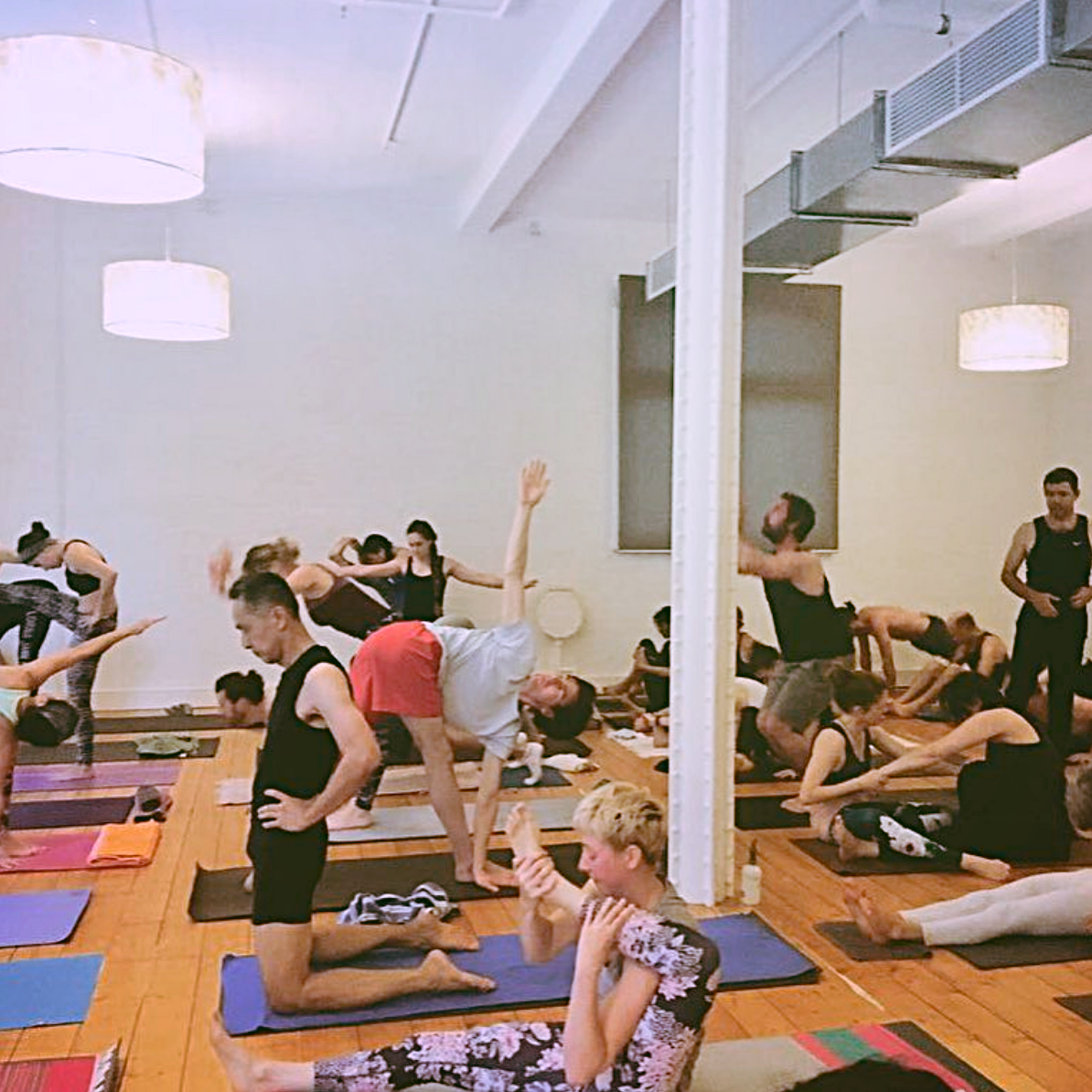 Peter Sanson _ Jessica Dewar Yoga