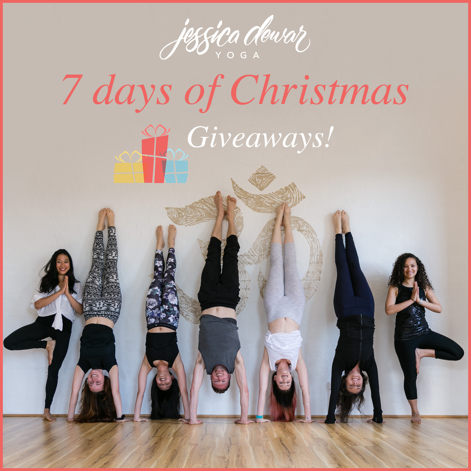Jessica Dewar Yoga_7 Days of Christmas Giveaways
