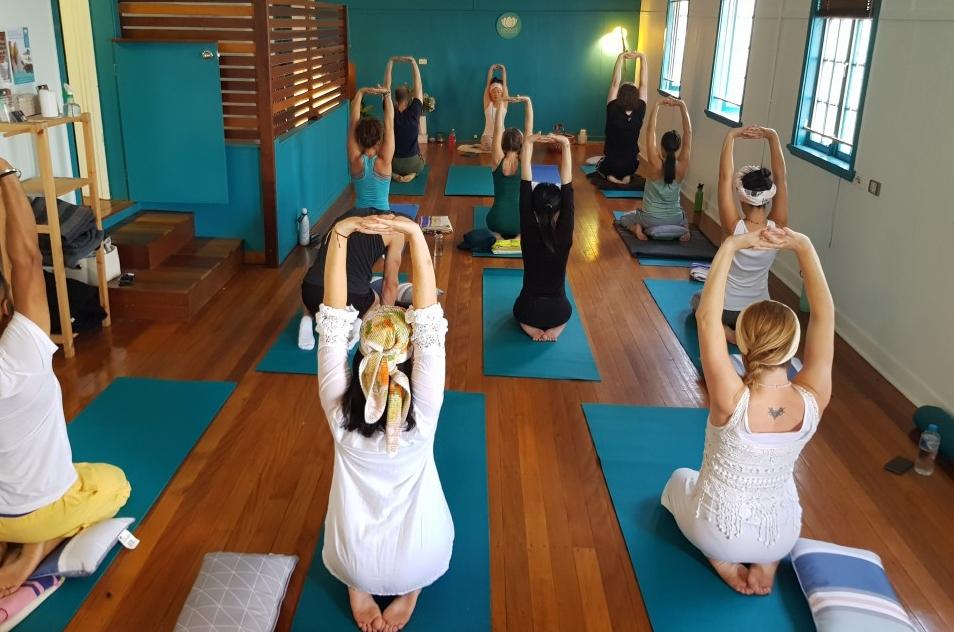 Picture Classes at Kundalini Yoga Brisbane
