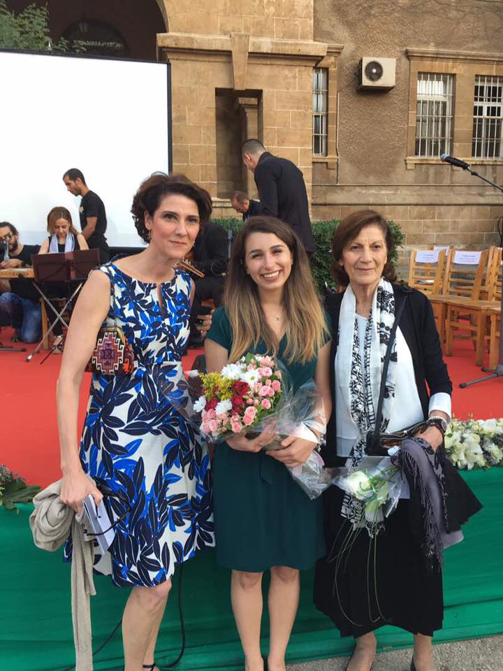 Farah with Samia & Ramla Khalidi