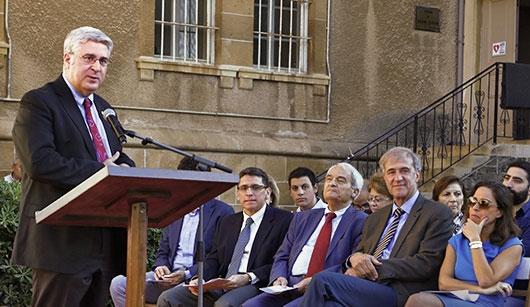 President Fadlo Khouri introduces the 2017 Awards