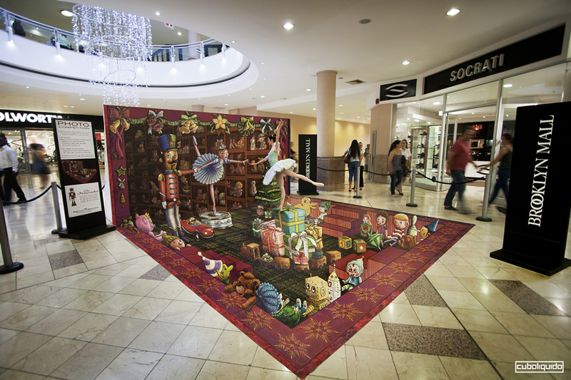 Street Art Performance - Brooklin Mall - South Africa