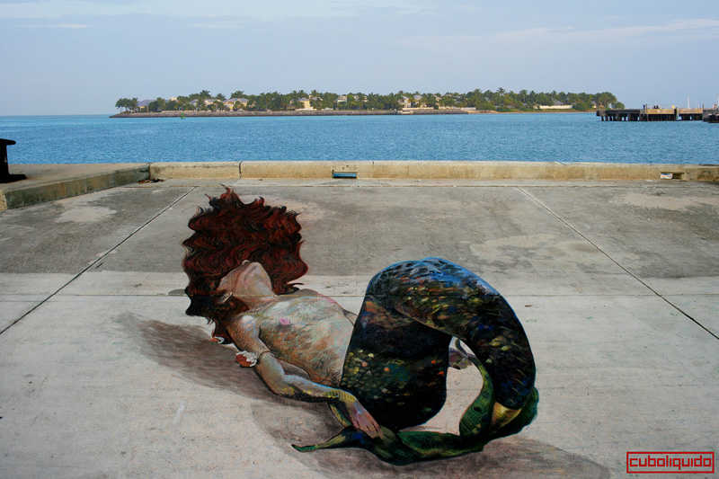 Chalk Festival - Key West Chalk Festival 2014