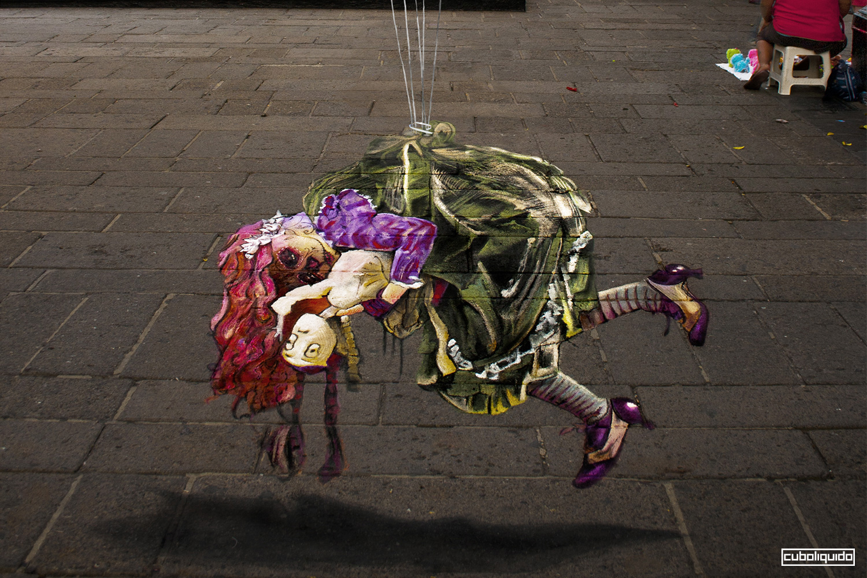 Festival Madonnari - Street Painters - Colores de Jalisco