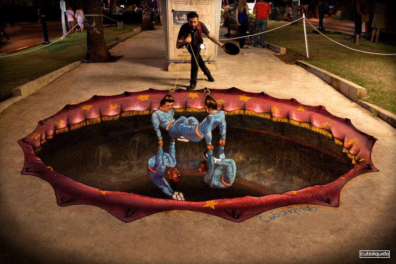 3D Street Painting Festival – Ramat HaSharon
