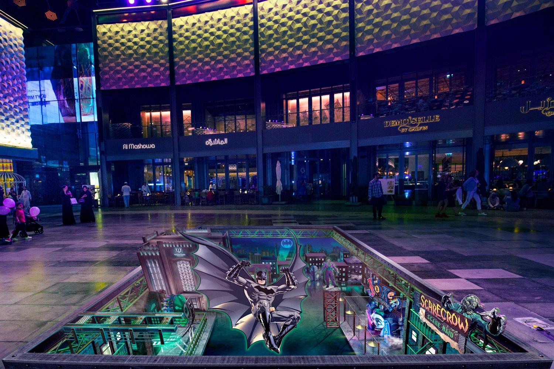 Warner Bros - Gotham - City Walk Dubai Promotion - World Abu Dhabi Theme Park - United Arab Emirates